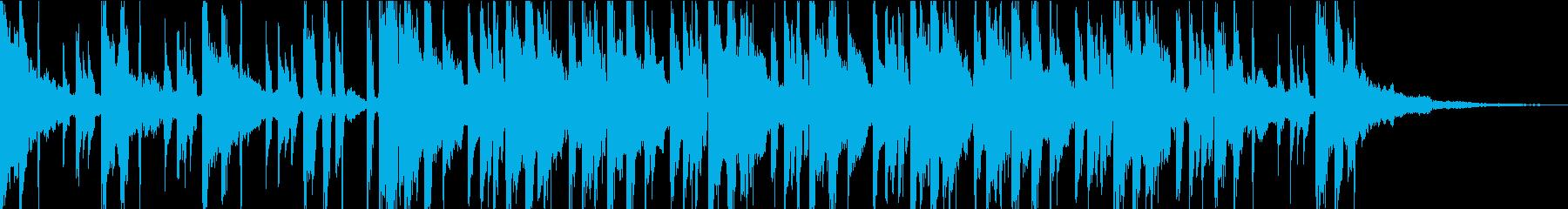 37秒涼しげ少しチープな?シンセPOPSの再生済みの波形