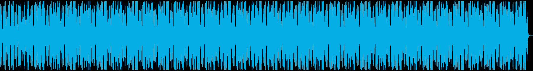 ピアノとストリングスの優しいヒーリング曲の再生済みの波形