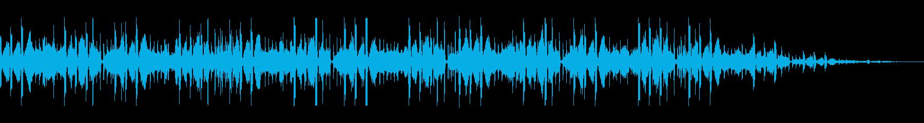場面転換に最適なインスト曲の再生済みの波形