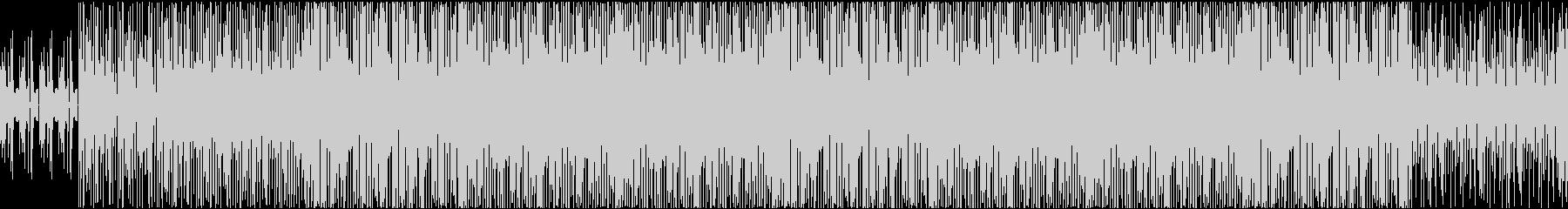 ユニークなモンスターとの対面の未再生の波形
