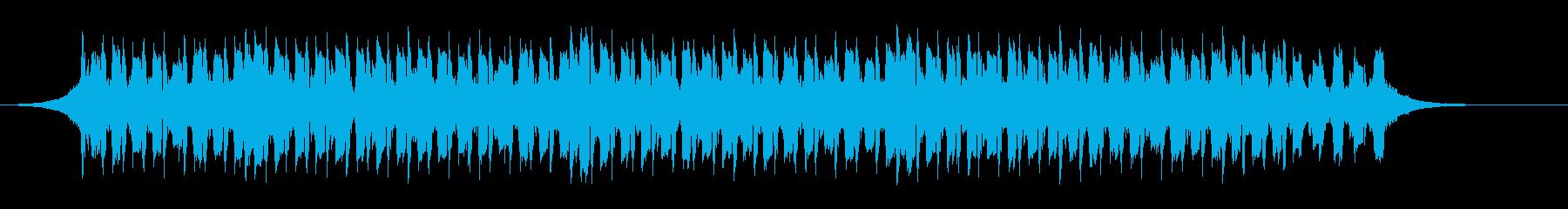 健康テクノロジー(42秒)の再生済みの波形
