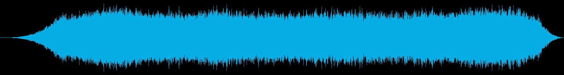 無線通信の干渉、厚くて文字化けの再生済みの波形