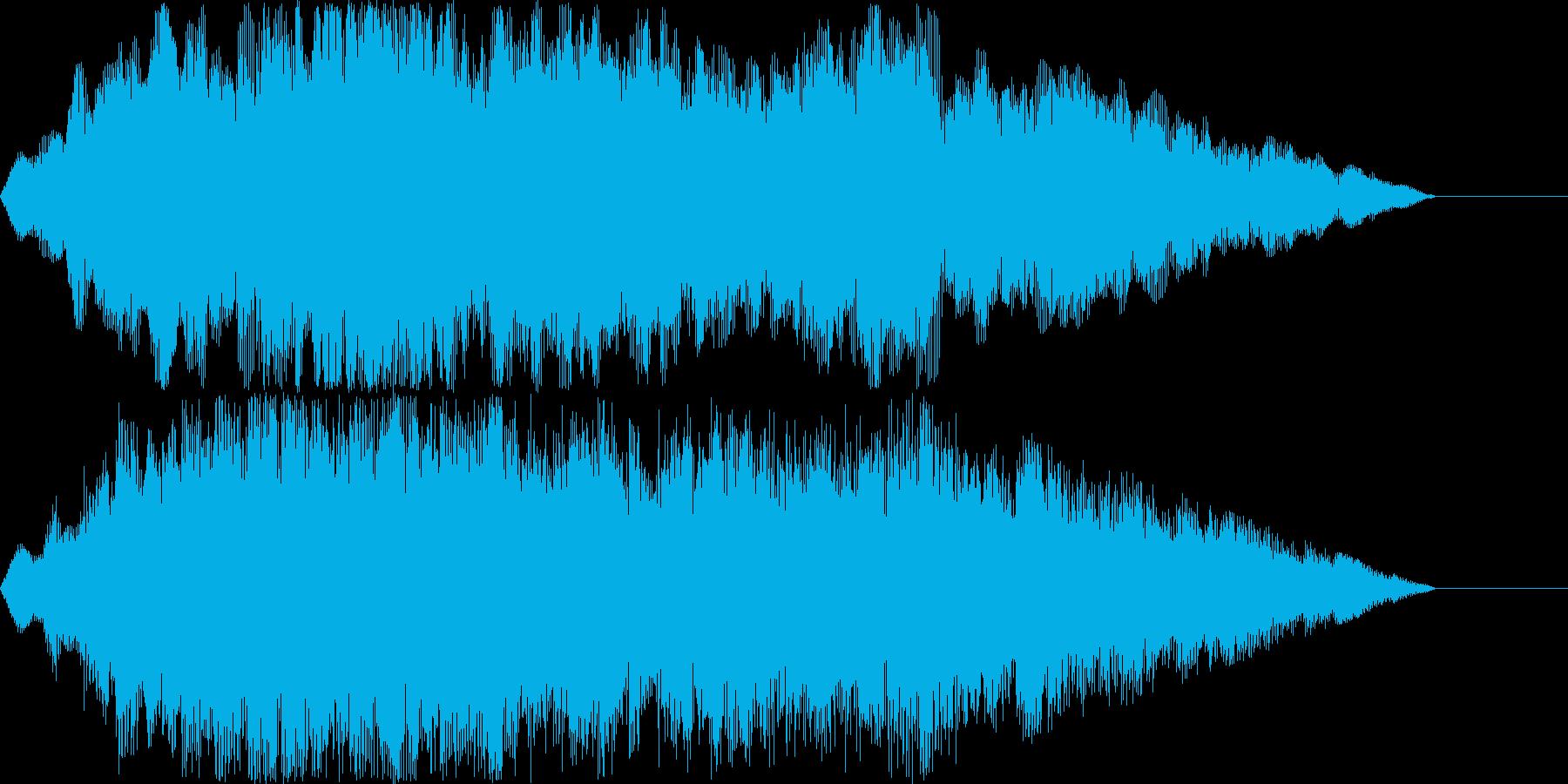 クリア時のジングルの再生済みの波形