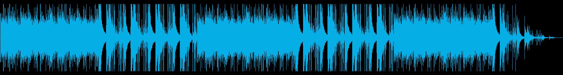 ゲーム。タイトル画面。ほのぼのの再生済みの波形