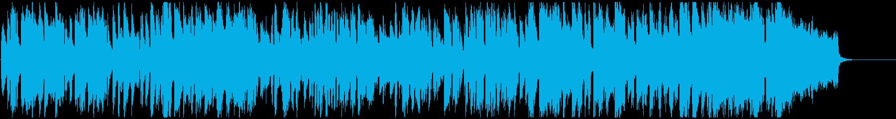 カジノやショーの幕開け的ジャズ※60秒版の再生済みの波形