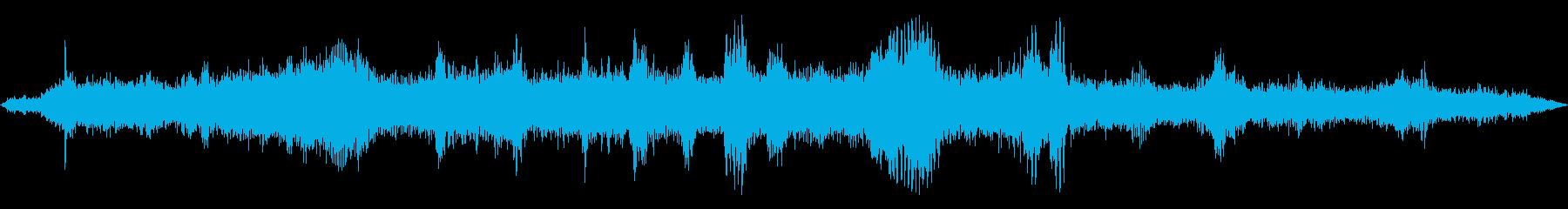 INT:加速、高速運転、減速、揺れ...の再生済みの波形