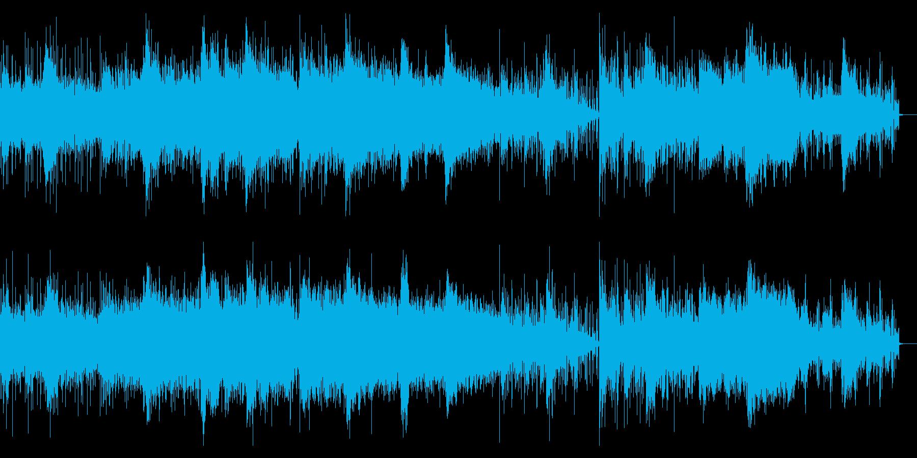 不思議でグリッジなエレクトロニカ、IDMの再生済みの波形