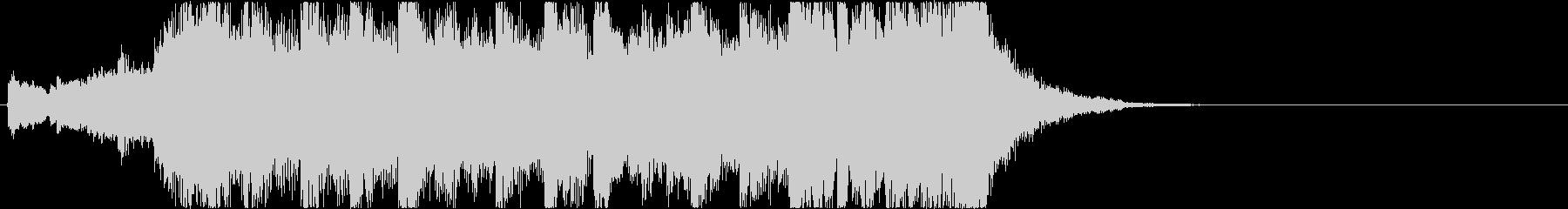 ニュースOP4 16bit44.1kHzの未再生の波形
