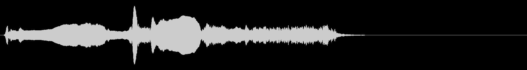 尺八 生演奏 古典風 残響音有 #7の未再生の波形
