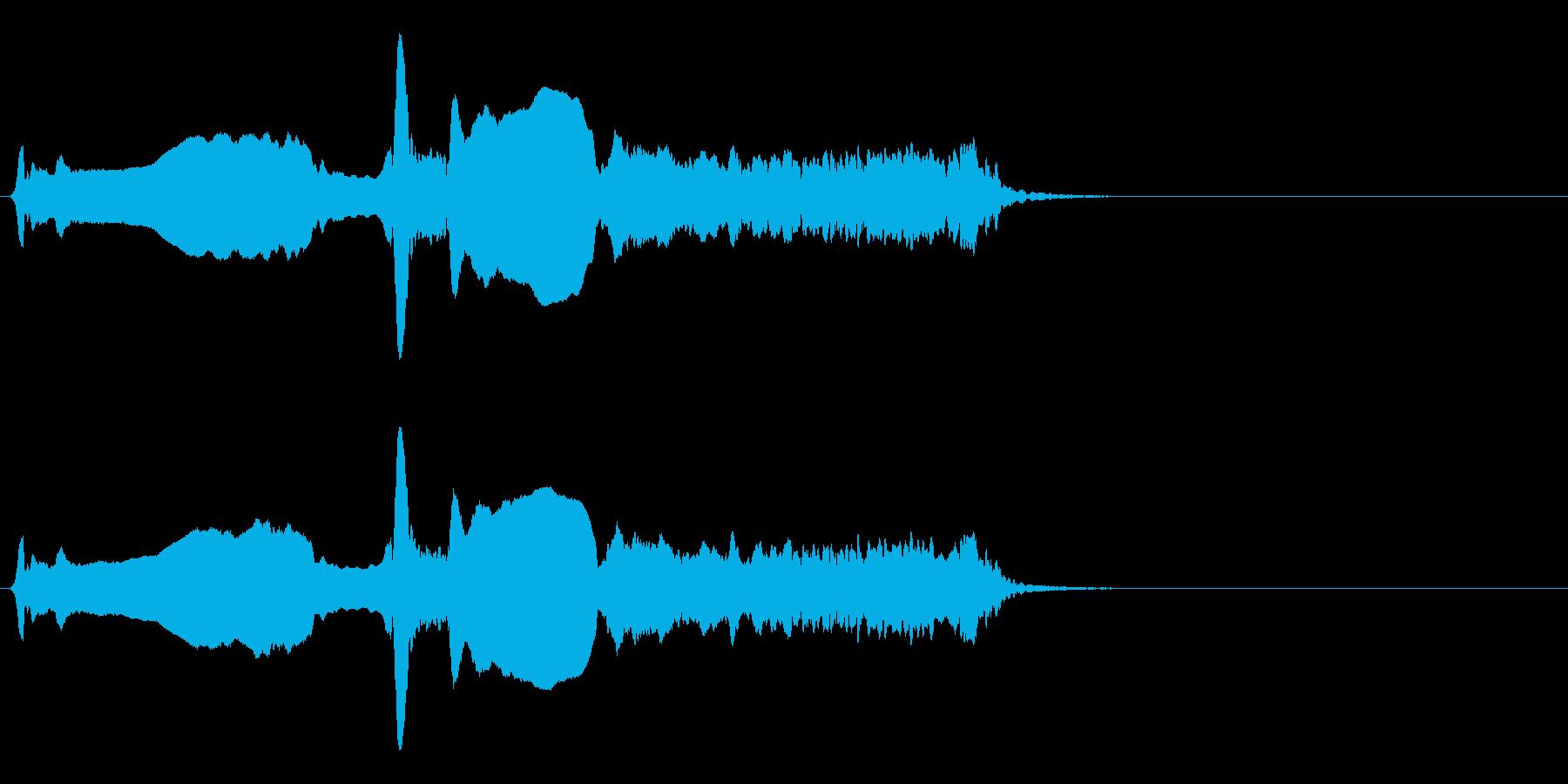 尺八 生演奏 古典風 残響音有 #7の再生済みの波形