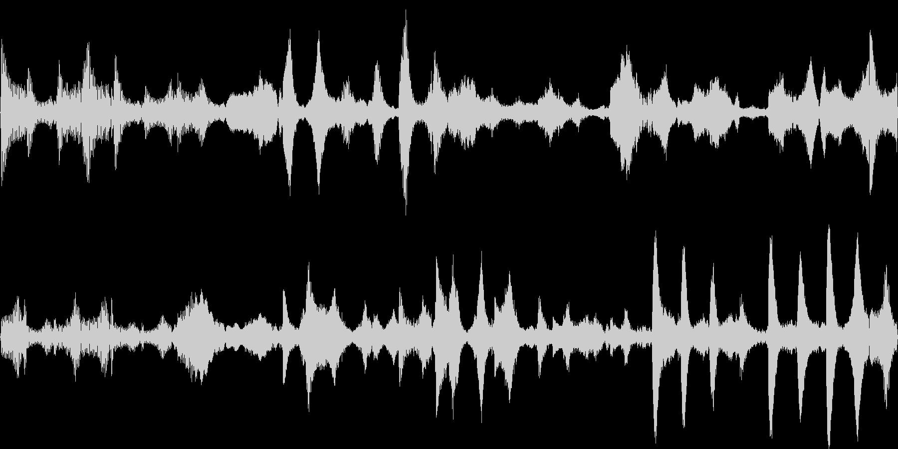 k009 アラーム音(ループ仕様)の未再生の波形