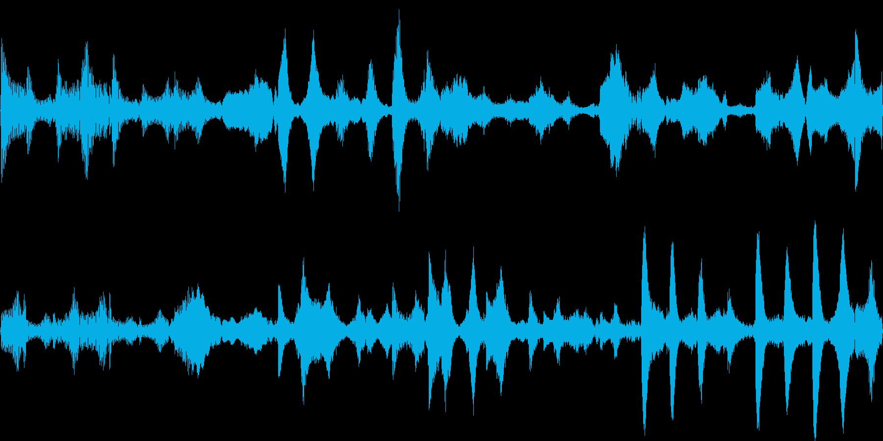 k009 アラーム音(ループ仕様)の再生済みの波形