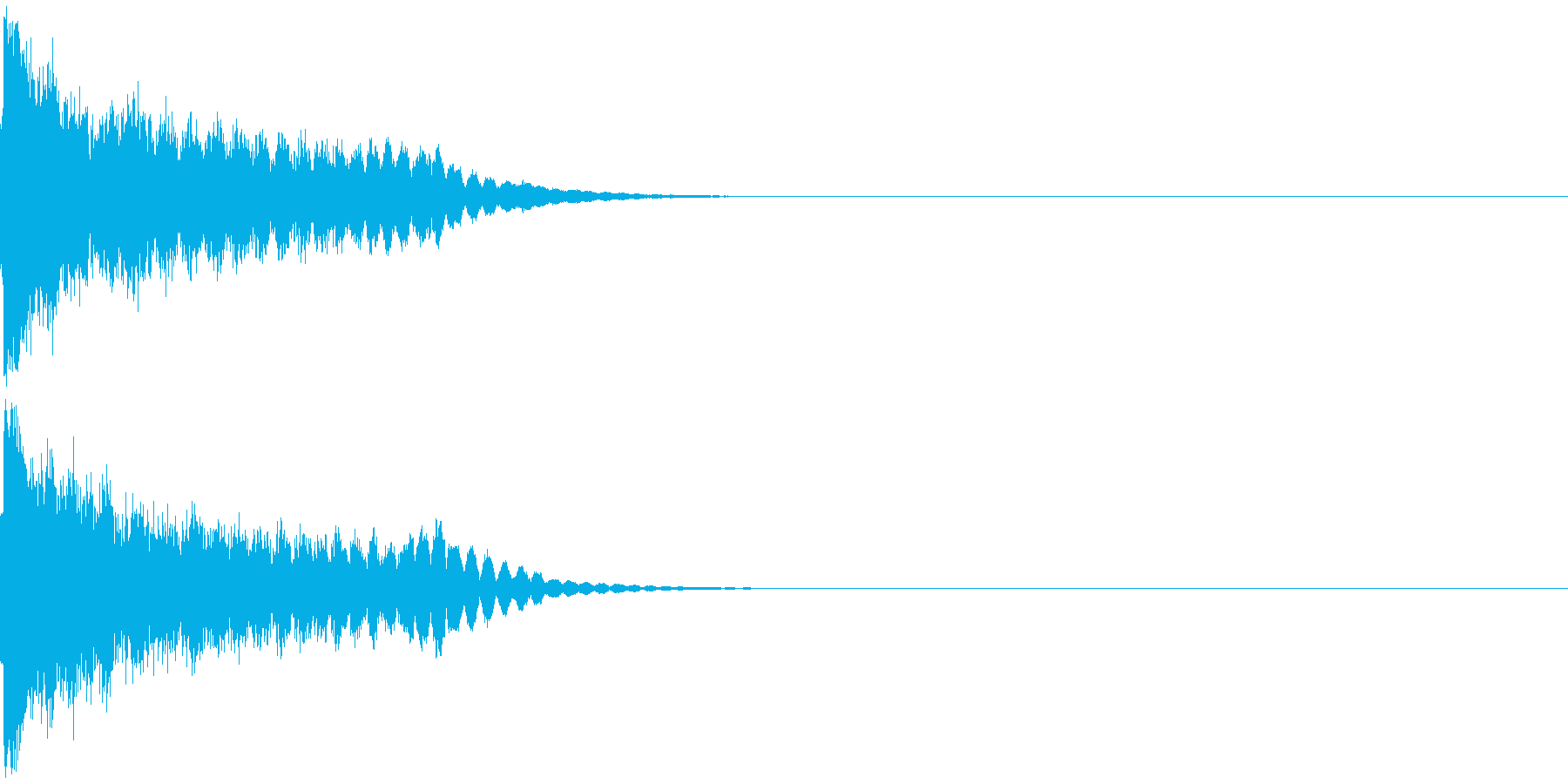 刀 剣 ソード カキーン キュイーン14の再生済みの波形