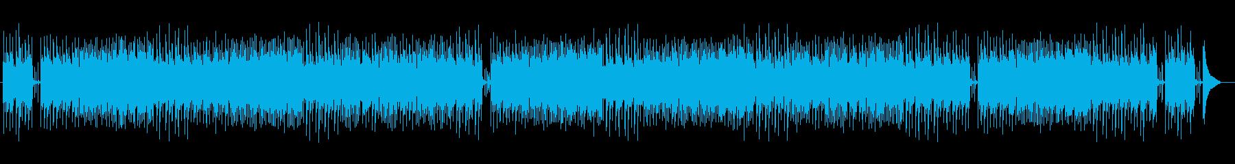 シンプルで優しいピアノとアコギバラードの再生済みの波形
