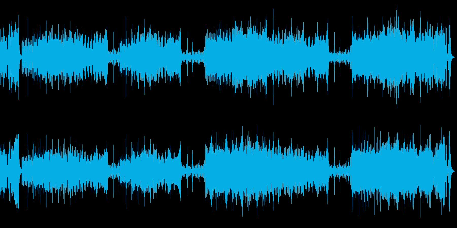 本格的オーケストラOPの再生済みの波形