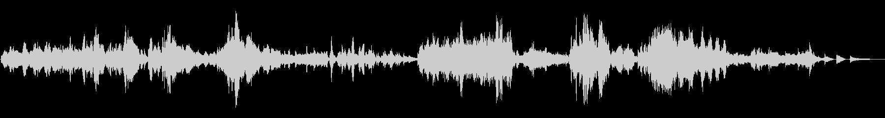 ブラームス/ヴァイオリン・ソナタ3-2の未再生の波形