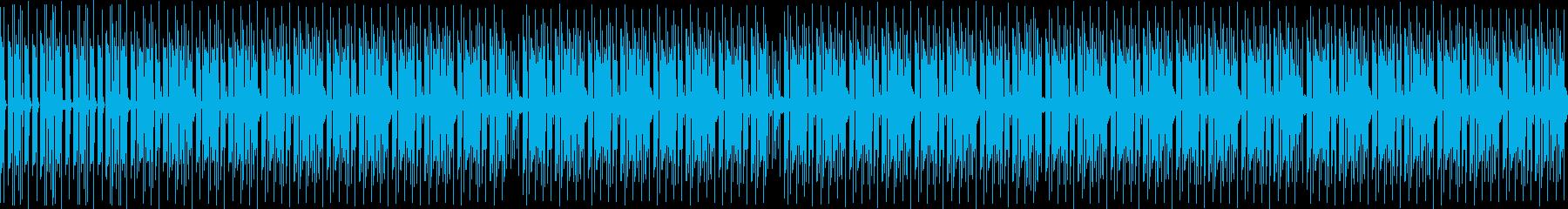 無機質で浮遊系なミニマルテクノの再生済みの波形