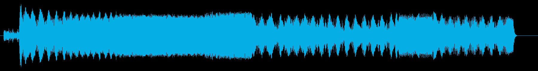 ドラッグボート;開始/アイドル/回...の再生済みの波形