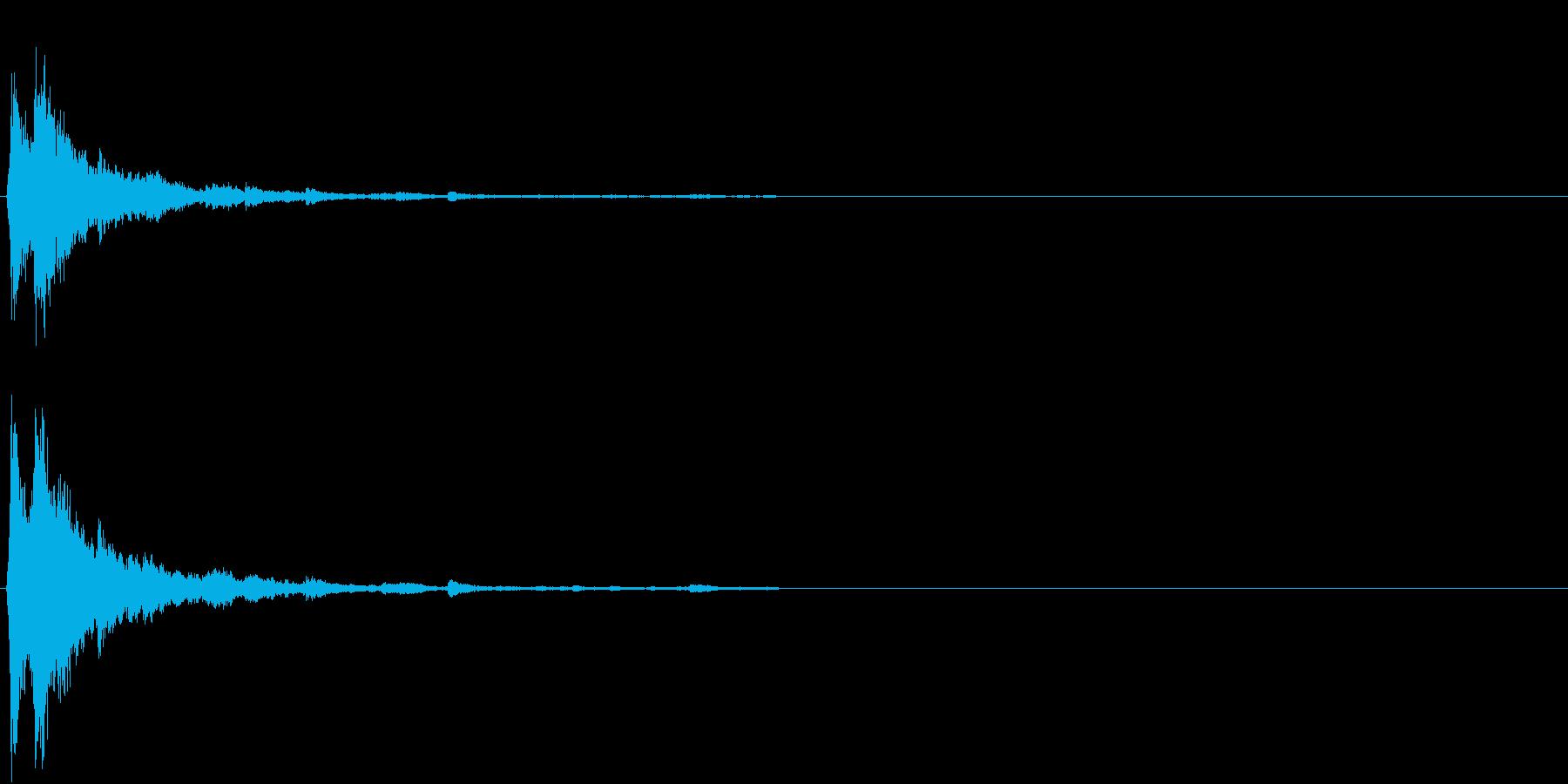 「シャシャーン」象徴的なソリベルの音2の再生済みの波形