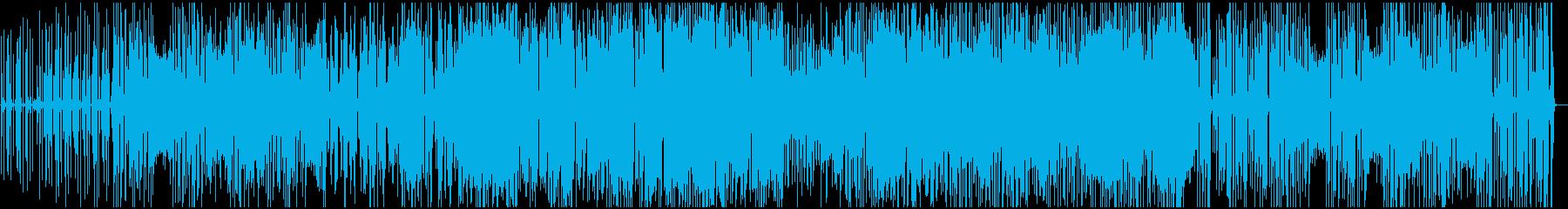 イントロドラムとグルーヴジャズ、オ...の再生済みの波形
