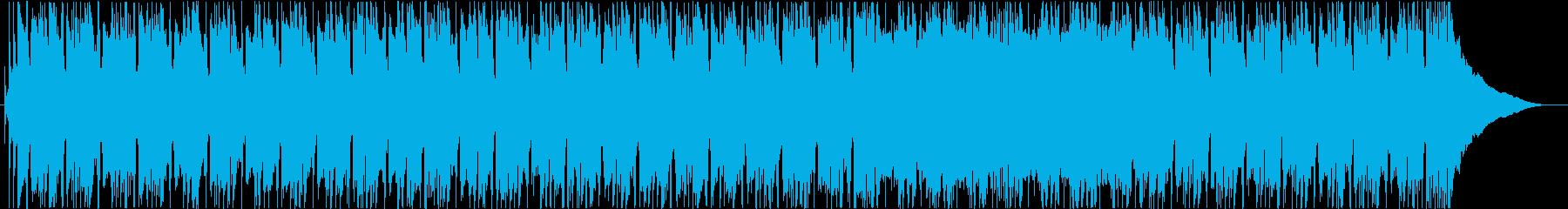 背景、ライトロックの再生済みの波形