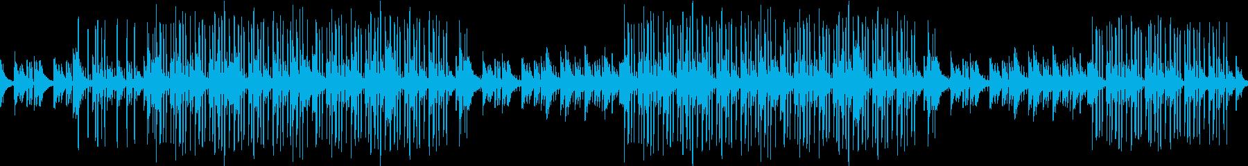 ピアノ・綺麗・エモ・お洒落・ループ・夜の再生済みの波形