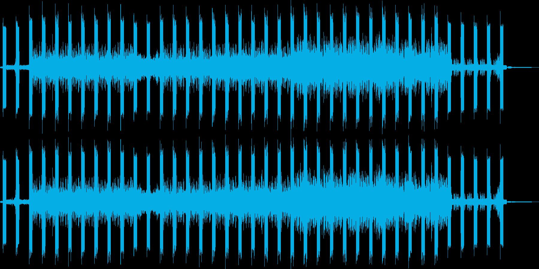 鳥のさえずるダークな森の雰囲気のドラムンの再生済みの波形