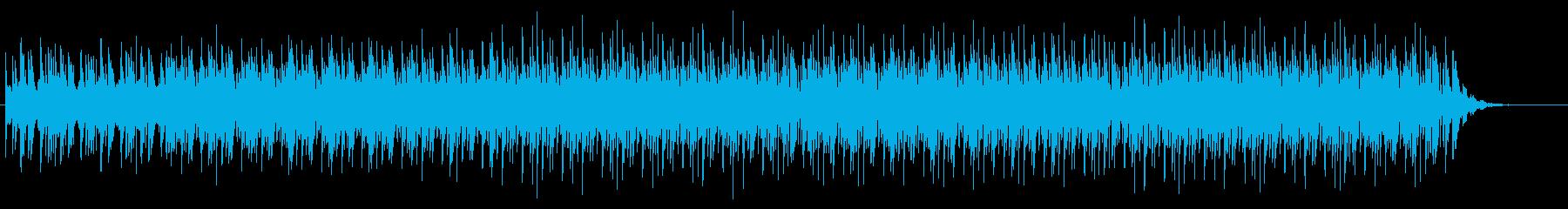 軽快で爽やかなテクノ系サウンドの再生済みの波形