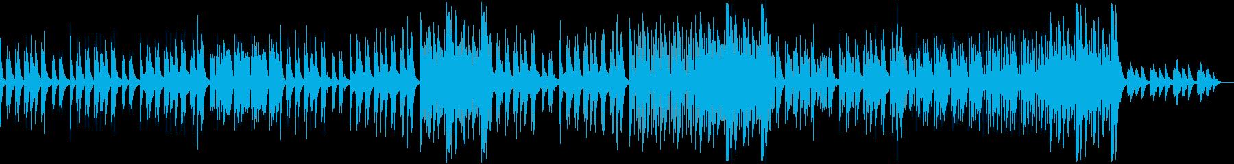 怪しくコミカルなハロウィンBGMの再生済みの波形