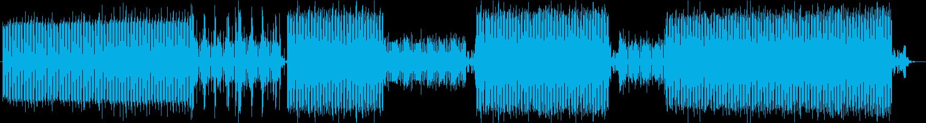 電気楽器。スペーシーな雰囲気のある...の再生済みの波形