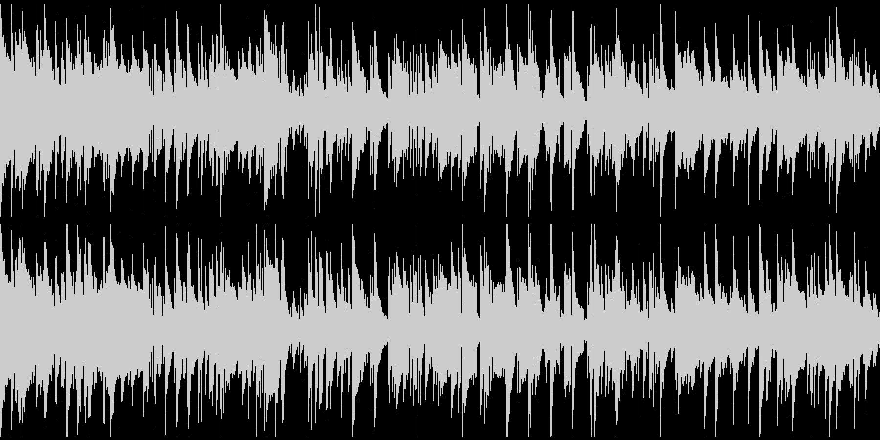 お下劣コメディ系のサックス ※ループ版の未再生の波形