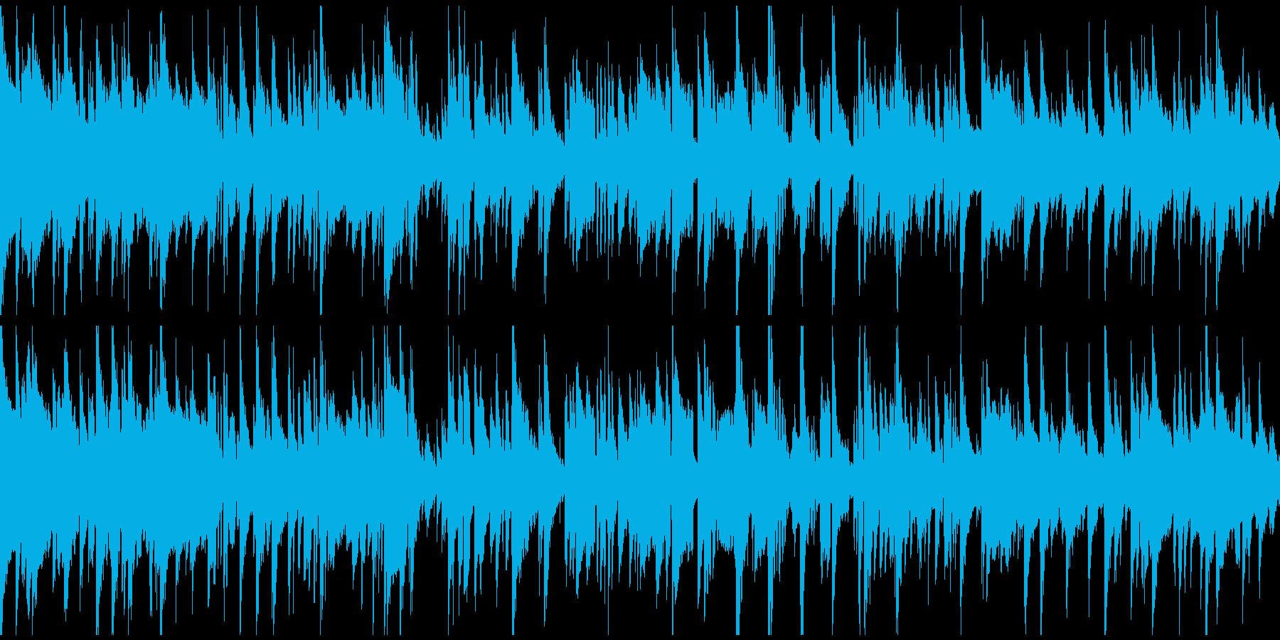 お下劣コメディ系のサックス ※ループ版の再生済みの波形