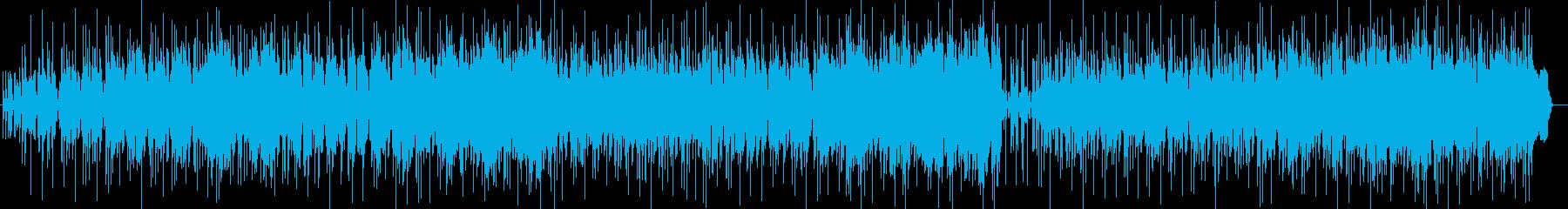 ナンパでイケイケな洋楽レゲエポップの再生済みの波形