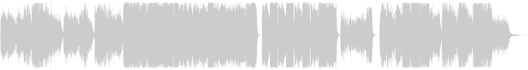 Mellow and melodic choir style BGM's unreproduced waveform