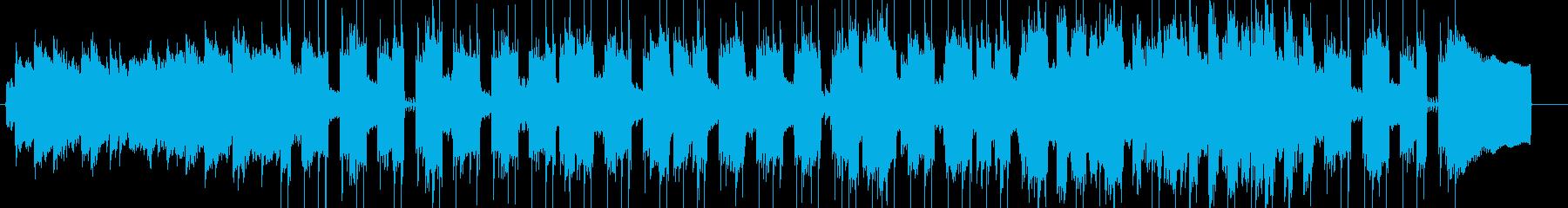 ゆったり和風スムーズジャズの再生済みの波形