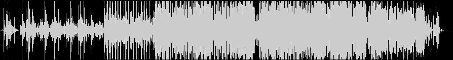 浮遊感のあるシンセサウンドの未再生の波形