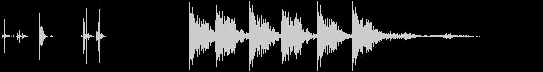 半自動ピストル:ロードガン、FIR...の未再生の波形