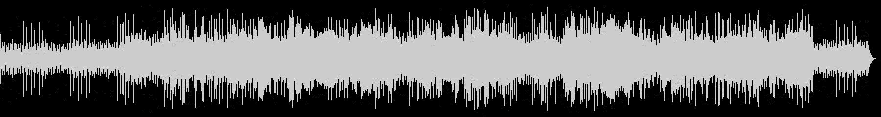 シンセサイザーのムードのある曲の未再生の波形