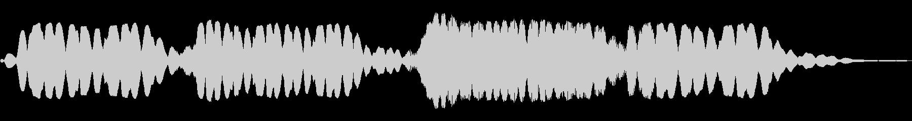 ホワワワーン(幻想的な効果音)の未再生の波形