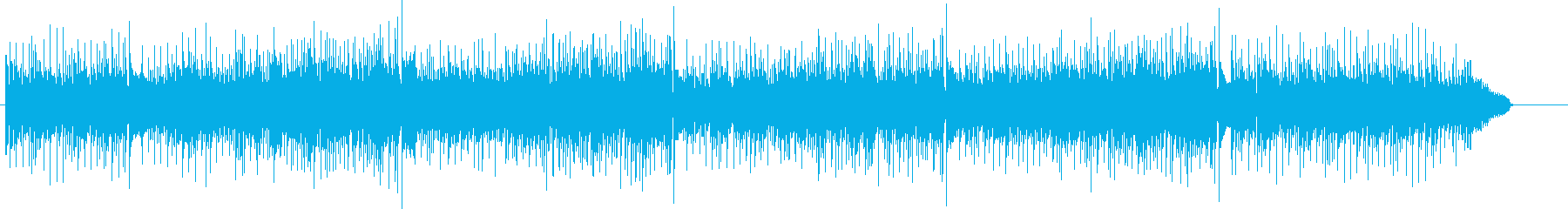 60'sポップス風ボサノヴァアンサンブルの再生済みの波形