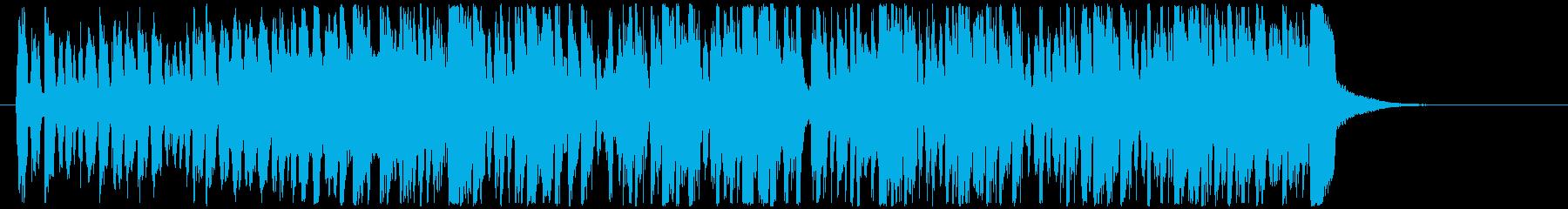 ファンク アクティブ 明るい おし...の再生済みの波形