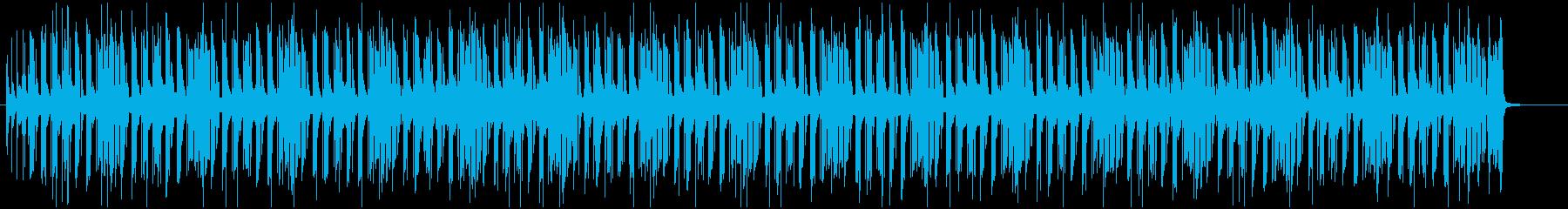 ほのぼのしたピアノポップス☆知育・子どもの再生済みの波形