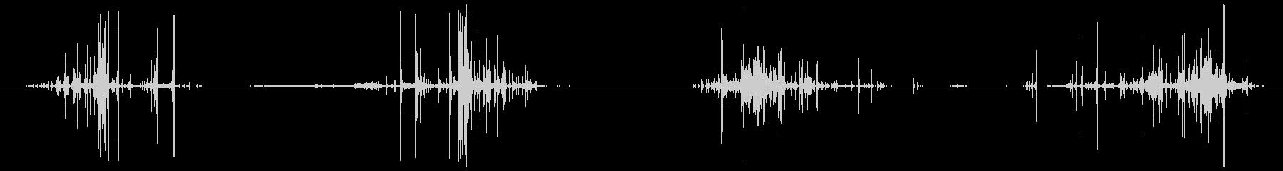 万華鏡 回す (シャカッ シャッカッッ)の未再生の波形