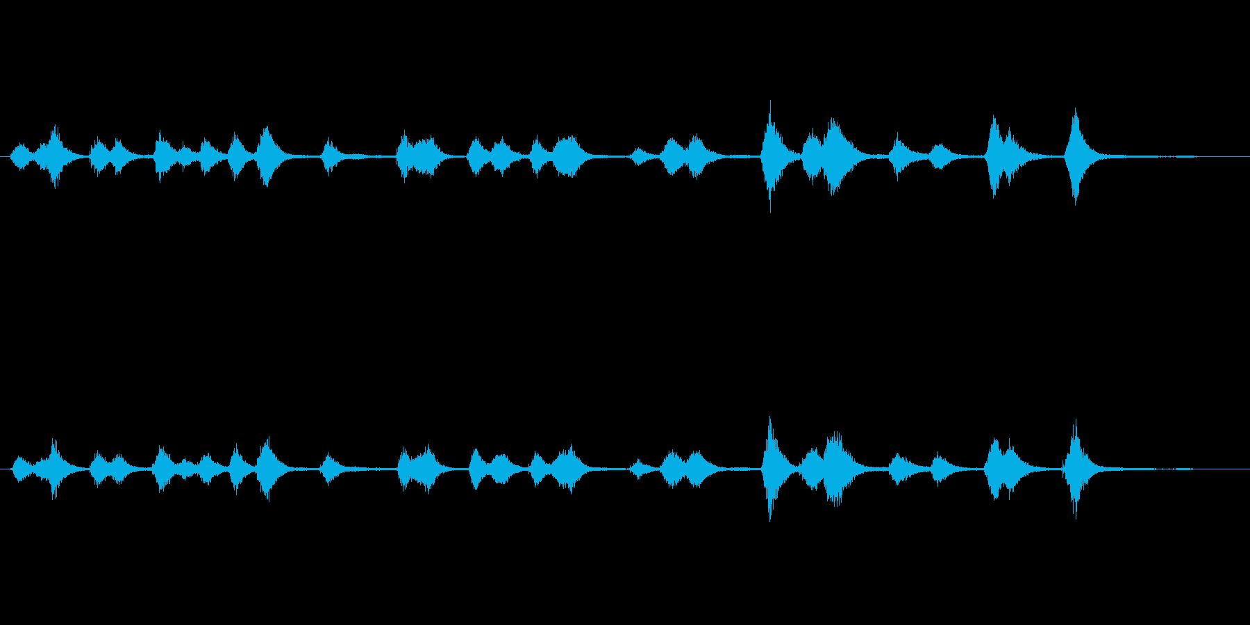 キラキラ星空ウィンドチャイム Starの再生済みの波形