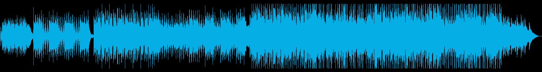 和風メロディーのバラードの再生済みの波形