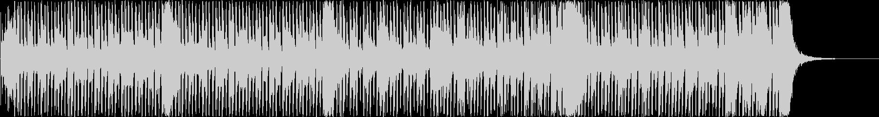 ポップな雰囲気で動画のBGMに最適の未再生の波形