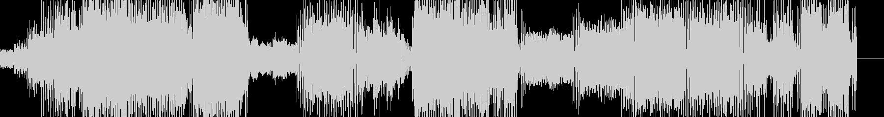ポップな曲調にピコピコシンセの音を加え…の未再生の波形