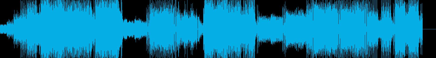 ポップな曲調にピコピコシンセの音を加え…の再生済みの波形