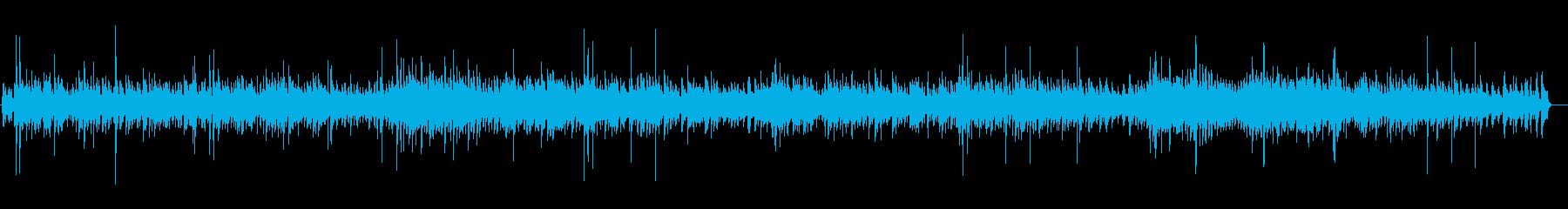 穏やかなぬくもりを感じる優しいBGMの再生済みの波形