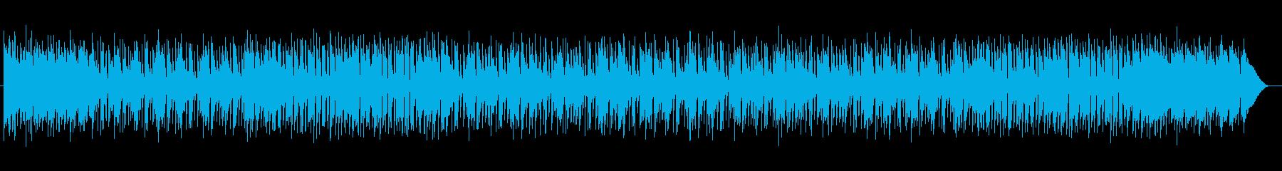 朗らかで温かみのある和み系癒しポップスの再生済みの波形